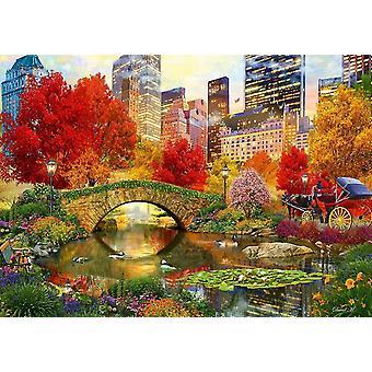 Puzzle bluebird central park nyc (1000 pezzi)