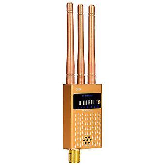 RF-signaaldetector, draadloze bugdetector signaalapparaat finder radar radioscanner draadloos signaal