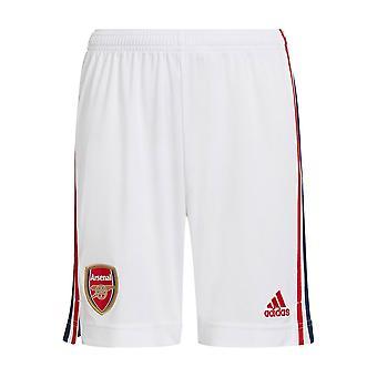 Arsenal 2021-2022 Kotis shortsit (valkoinen) - Kids