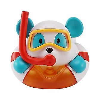 في الهواء الطلق فقاعة آلة الدب موسيقى الاطفال حمام لعبة