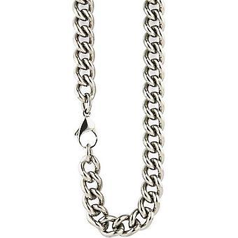 Ti2 Titanium klobige Curb Chain - Silber