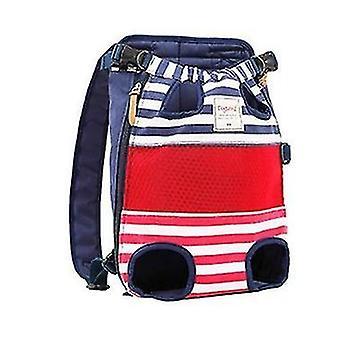 Cat dog carrier front backpack(Blue)
