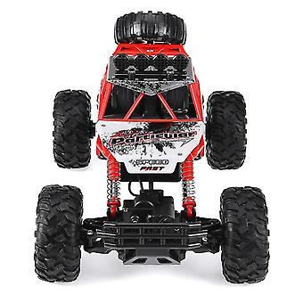 4wd 2.4ghz Remote Control Monster Truck(Red)