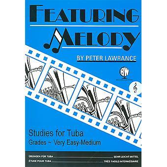 Featuring Melody for Tuba Treble Clef (tuba/Eb Bass)