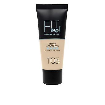 Liquid Make Up Base Maybelline Fit Me Matte & Poreless 105 Natural Ivory (30 ml)