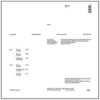 Terje Rypdal - Waves Vinyl