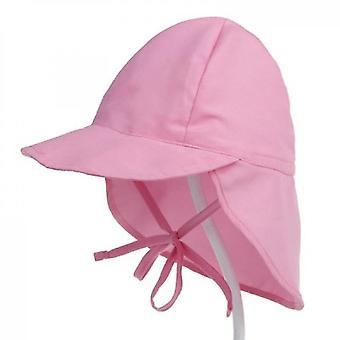 Vauva taapero hatut vaaleanpunainen vauva ulkona rantalakki