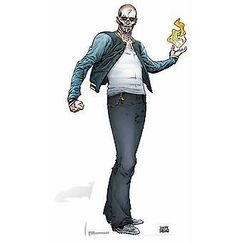 El Diablo Suicide Squad sarjakuva taidetta pahvi automaattikatkaisin / seisoja / Stand Up