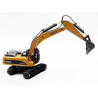 Toy cars 1710 1/50 alloy excavator truck car die cast metal construction vehicle model toys|rc trucks brown