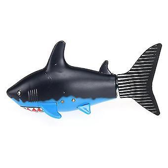 Remote control boats watercraft create toys 3310b 3ch 4 way rc shark fish boat shark