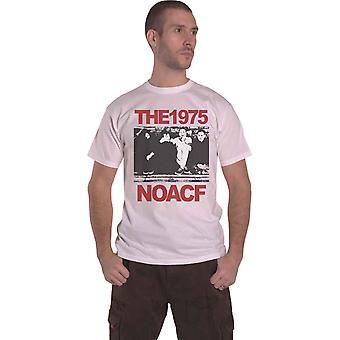 The 1975 T Shirt NOACF Band Logo new Official Mens White