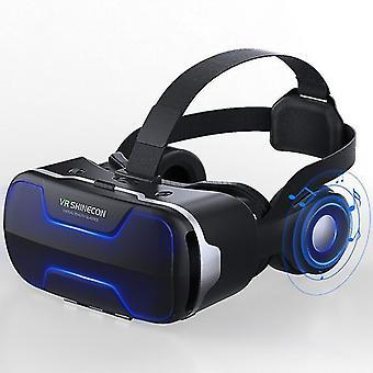 Vr shinecon g02ed 3d vr lasi kypärä lasi virtuaalitodellisuus kuulokkeet panoraama 4.7-6.0 tuumaa