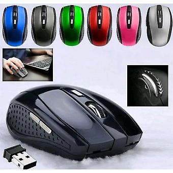 Nouvelles souris souris souris sans fil portables de 2,4 g