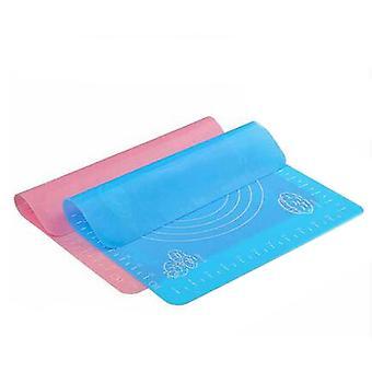 Geschaalde siliconen mat bakmat op hoge temperatuur mat antislip kneedmat kan in de oven worden geplaatst