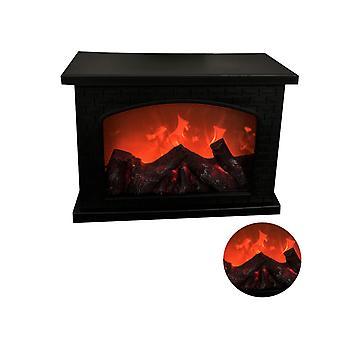 Open haard Lamp Led Flame Effect Log Fire Place Ornamenten Home Decor
