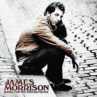 James Morrison - låtar för du sanningar för mig [CD] USA import