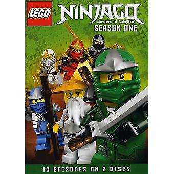 LEGO Ninjago: Masters of Spinjitzu: importación de USA de la temporada 1 [DVD]