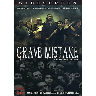 Grave Mistake [DVD] USA import