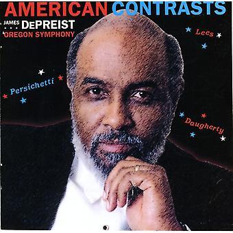 Lee/Persichetti/Daugherty - American Contrast [CD] USA import