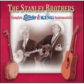 Stanley Brothers - frères Stanley : Collection complète de roi & Starday [CD] USA import