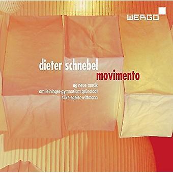 Schnebel / Peters / Wittmann - Movimento [CD] USA import
