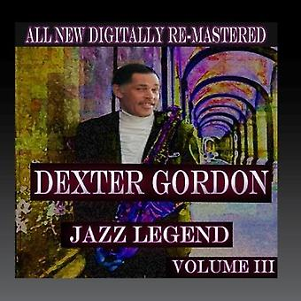Importation de Dexter Gordon - Dexter Gordon - USA Volume 3 [CD]