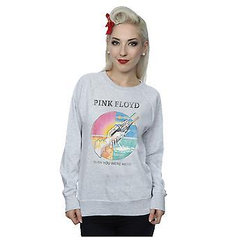 Pink Floyd féminin vous souhaite étaient ici prisme Sweatshirt