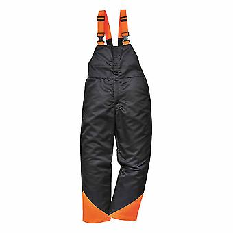 Portwest - Oak Chainsaw Safety Workwear Bib and Brace Dungarees