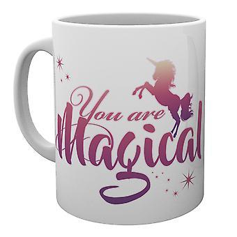 Einhörner sind Sie magische Tasse