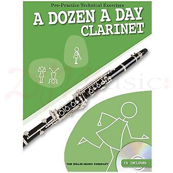 A Dozen A Day Clarinet Book & CD