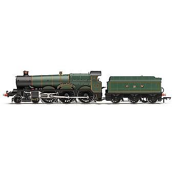 Hornby Steam Locomotive GWR 4-6-0 'Knight of St Patrick' '4013' 4000 Star Class