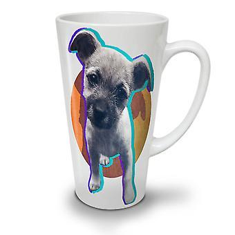 Puppy Cute Adorable Dog NEW White Tea Coffee Ceramic Latte Mug 12 oz | Wellcoda
