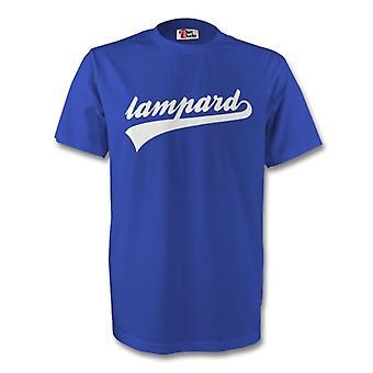 Frank Lampard Chelsea allekirjoitus t-paita (sininen)