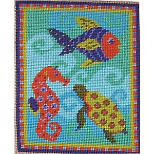 Felicitys fisk Needlepoint Canvas