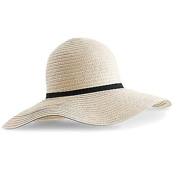 Beechfield Womens/Ladies Marbella Wide-brimmed Sun Hat