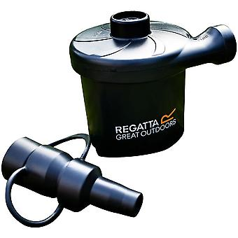Regatta Electric Three Nozzle Adapter UK Airbed Pump with Car Charger