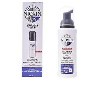 Nioxin System 6 cuir chevelu traitement unisexe 100 Ml pour les cheveux épais très faible