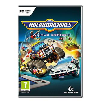 Micro Machines World Series PC CD Game