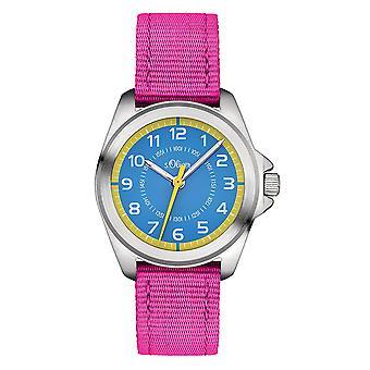 s.Oliver Uhr Kinder-Armbanduhr Kids SO-3227-LQ