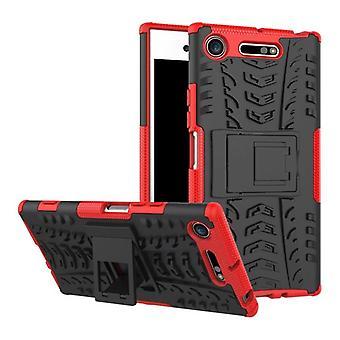 Hybrid case 2 stuk SWL robot rode Sony xperia XZ1 compact / mini tas gevaldekking van bescherming