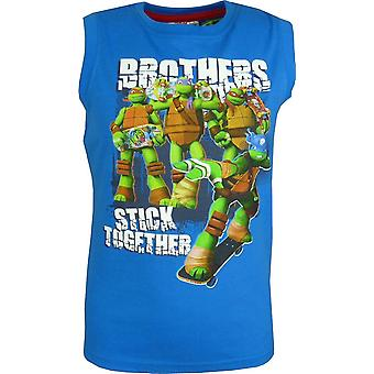 Jongens Nickelodeon Ninja Turtles mouwloos T-shirt Vest Top