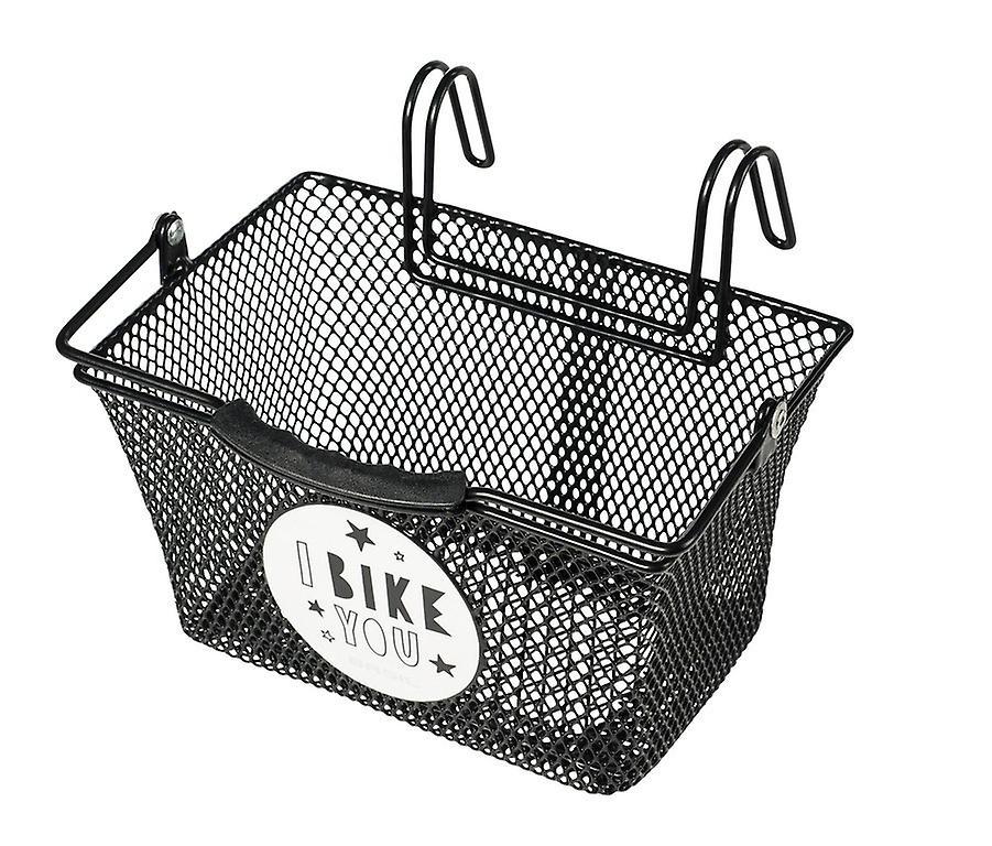 Basil Pasja Basket Elba Wicker Dog basket Rear Mounting W//6-20mm INC Cushion