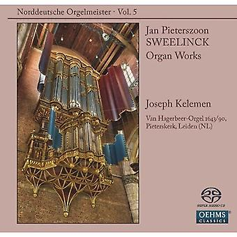 Jan Pieterszoon Sweelinck - Norddeutsche Orgelmeister, Vol. 5: Sweelinck [SACD] USA import