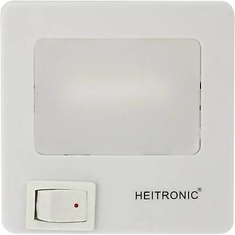 Heitronic 47202 LED night light Square LED (monochrome) Neutral white White