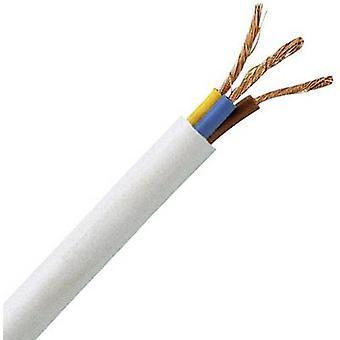 Kopp 151710849 Flexible Kabel H05VV5-F 3 G 1 mm ² weiß 10 m