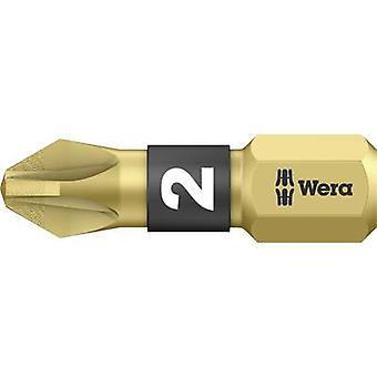 Wera 855/1 BDC PZ 2 X 25 05056702001 Philips bit PZ 2 Werkzeugstahl DLC beschichtet D 6.3 1 st.D.(s)
