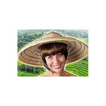 Hatte realistisk safari/kinesisk hat