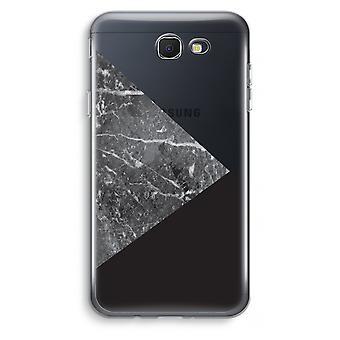 Samsung Galaxy J7 Prime (2017) Transparent Case (Soft) - Marble combination
