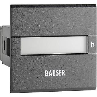 Bauser 3801/008.2.1.0.1.2-003 Digital operating hours counter type 3801