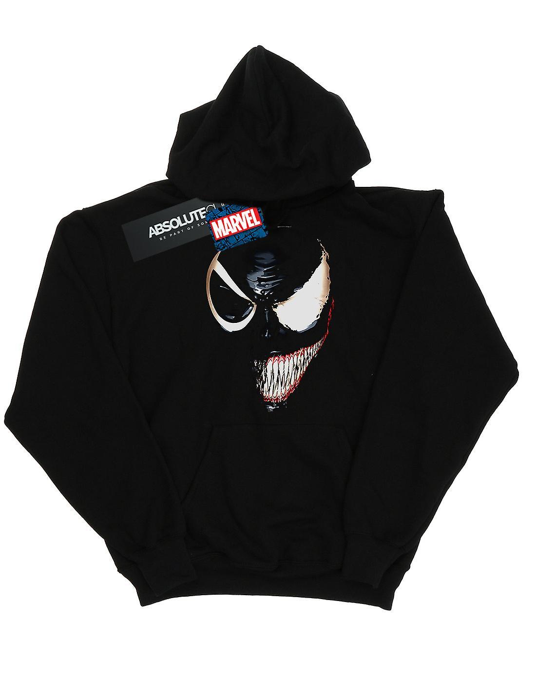 Marvel Boys Venom Split Face Hoodie
